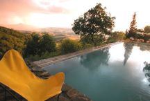 Pools in Tuscany  / by ClassicVacationRental.com