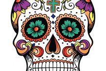 Dia de Los meurtos!! / Day of the dead / by Cyn Kip