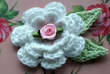 crochet flowers / by Donna Allen