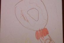 My kid's art / by Laura Mitchell