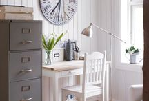 decor -- nooks, offices, craftspaces / home offices, office nooks, workspaces, craft and hobby rooms, etc.  / by sonal chokshi