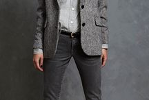 Brooke: Girls Wear Girls Wear Boys / Menswear-inspired androgynous leaning feminine clothing; casual yet professional, relaxed yet polished, warm weather appropriate  / by Liesl Victor