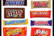 Candy bar printables / by Mona Hicks