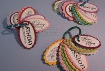Cards & tags & stuff / by Cathy Abbey