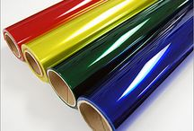Window Film Products / Acetate, mylar, and vinyl can be used for decorations, art projects, table cloths, replacing convertible windows, and even for weather-proofing drafty windows. / by TAP Plastics