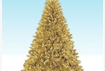 Glamourous GOLD / Caramel. Flaxen. Honey. Champagne. 24K. Nothing tops glamour the way gold does! / by Treetopia Artificial Christmas Trees