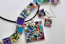mosaic jewelry / by Jane Barcelo