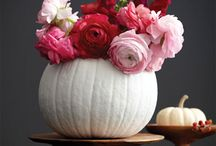 fall centerpiece / by Elisa Wilson