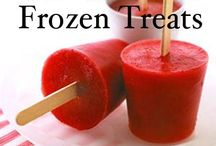 Just a Little Frozen Treat / Popsicles and frozen goodies / by Tammie Risica