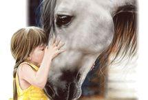 Caroline's horses / by Angie Heard