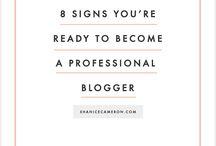 Blogging / by Amber Ashley