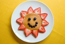 Fun Food for Kids / Early Childhood Education research. Studies show that kids are more likely to eat food with fun colors and designs. I'm a skeptic, but these are still cute! http://exm.nr/1jFPCdI / by Alisha Galbraith