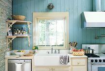 country kitchens / by Stephanie Gable
