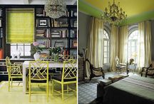 Living rooms and Hallways / It's all about statements and inviting comforts. / by Michelle Billings