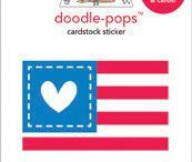 doodlebug patriotic parade / by doodlebug design inc.
