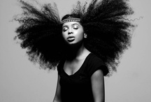 NATURAL HAIR / by Ev Seyer