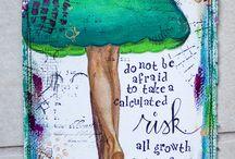 Art journal ideas / by Vicki Larmour