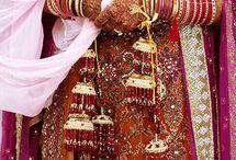 Bridal Kalire Designs / bridal chura   bridal kalira designs   Wedding jewellery   Bridal wedding jewellery / by BollywoodShaadis.com