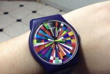 A World In Colour / Inspired by a rainbow's extended playlist of light and color, these playful wristwatches are soaked in vibrancy and are known to work hard but play harder. - http://swat.ch/1y0mkYr / by Swatch