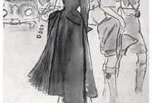 Vintage Fashion Illustrations / by oldsmocksnewfrocks
