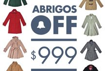 • ABRIGOS OFF • $999 • / by Bellmur