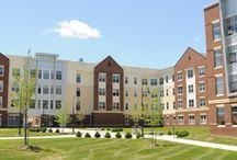 Residence Halls / The wonderful Residence Halls at Shippensburg University! / by Shippensburg University Housing & Residence Life