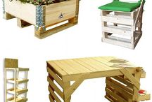 Re-purpose those Pallets / by Cheryl Byrne