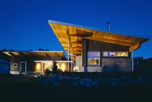 Architecture /  interesting modern homes with ultimate views of their natural surroundings / by Terry Jones