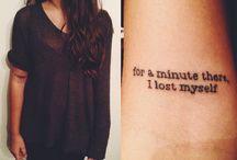Tattoos / by Madison Collard