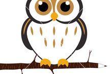 Owls / by Stephanie West