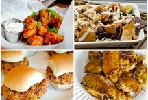 fun weekend & party foods / by Lisa Griffey