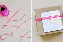 DIY - Gift Wrapping & Packaging / by Janel Icenogle