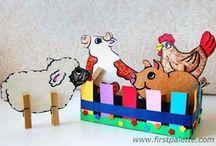Clothespin Crafts / by kathleen durbin