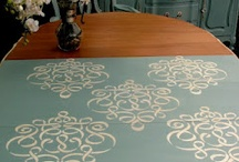 Chalk Paint Inspiration  / ideas using Annie Sloan Chalk Paint and American Paint Company  / by Michelle Ray Viscal