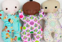 Cloth Dolls / Patterns for making your own doll / by Rosie's Doll Clothes Patterns