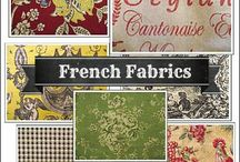 French Country Decor / A collection of french fabrics, french furniture and french fabrics that I like. / by Donna Gilliland