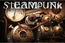 STEAMPUNK!!!  / STEAMPUNK  -  The ultra technological world born from hackers & maker culture has helped inspire a Jules Verne themed futuristic subculture.  Dr. Who... where are you... let's Steampunk that Tardis! / by Diana Bell