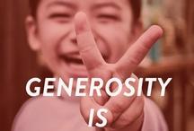 Generosity / by Michelle Jackson