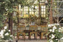 dreamy patios... / by Nancy Vodegel