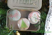 Altoid Tin Crafts / by Stephanie Desrosiers