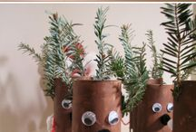 toilet paper roll crafts / by Kathy Bryson