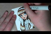 Copic Videos & tutorials / by Cherie Whittington