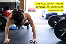 health and fitness / by Jillian Hostnik (lovejilly.com)