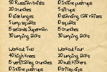 Fitness and stuff  / Bc I don't work out but should  / by Maria Trejo