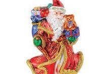 Radko Christmas Ornaments / by Ann Davis