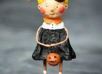Lori Mitchell / Lori Mitchell Figurines. Lori Mitchell Halloween. Lori Mitchell Christmas. / by TheHolidayBarn.com
