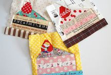 Quilt blocks / a collection of inspiring quilt blocks / by Zen Chic, modern quilts by Brigitte Heitland