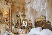 Bedrooms...to dream about:)  / by Elizabeth Rayburn
