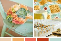 Color Palettes / by Emily Edwards at Your Heart's Desire