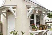 garden sheds / by Savvy Southern Style